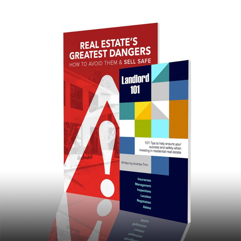 Real Estate's Greatest Dangers and Landlord 101 (Books)